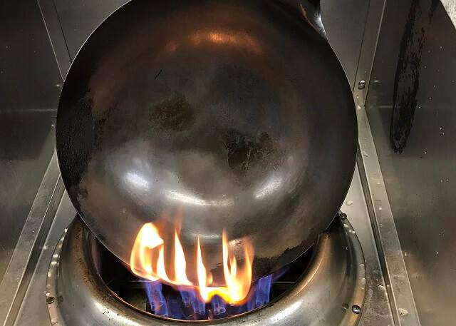 手入れ 中華 鍋